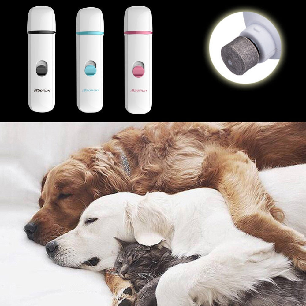 Electric Cat and Dog Nail Clipper