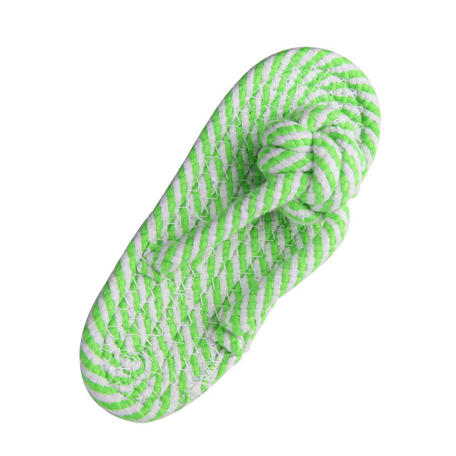 Slipper Rope Toy