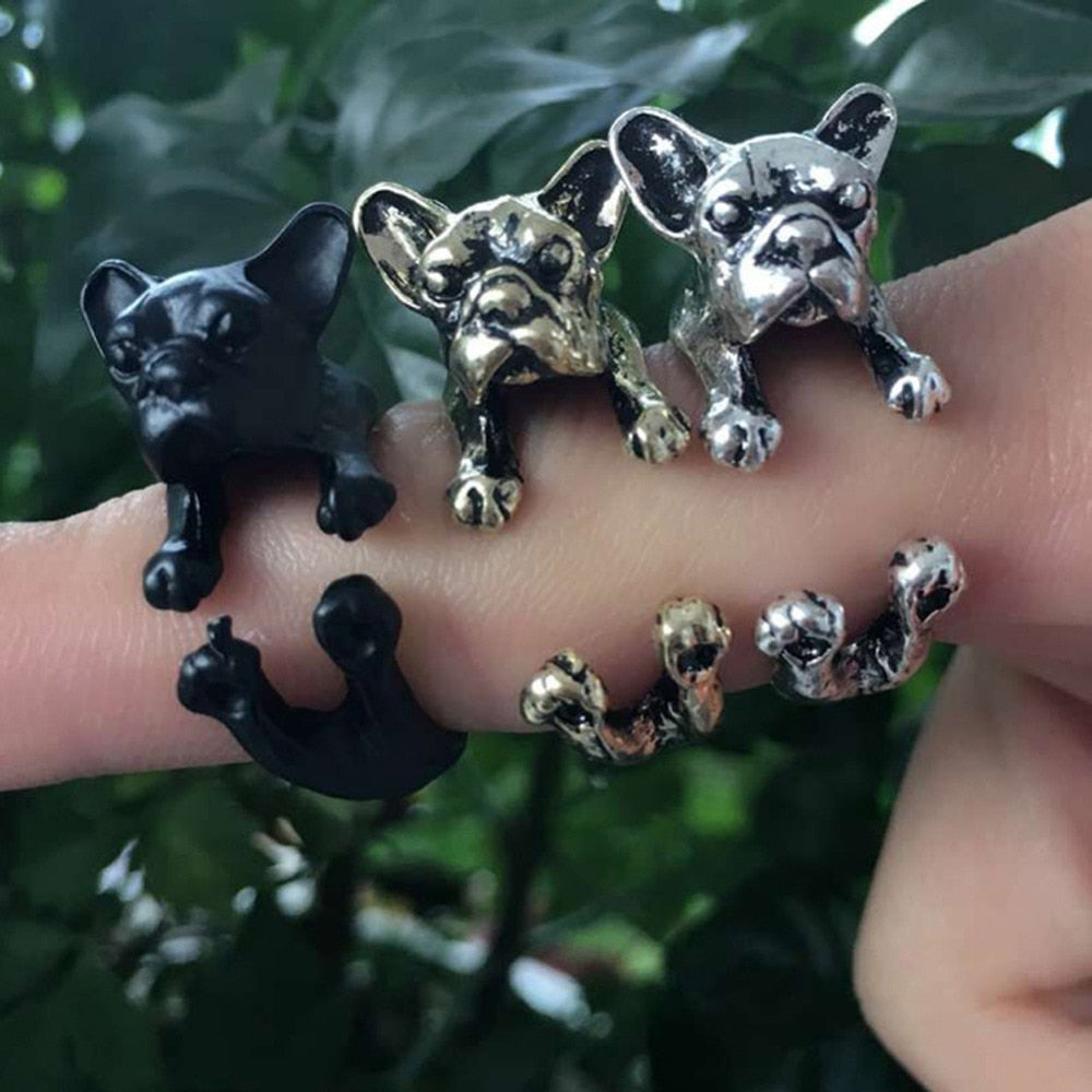 English Bull Dog Ring