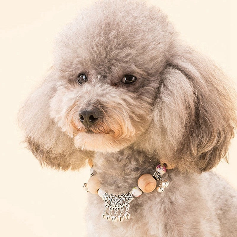 Bejeweled Dog Necklace
