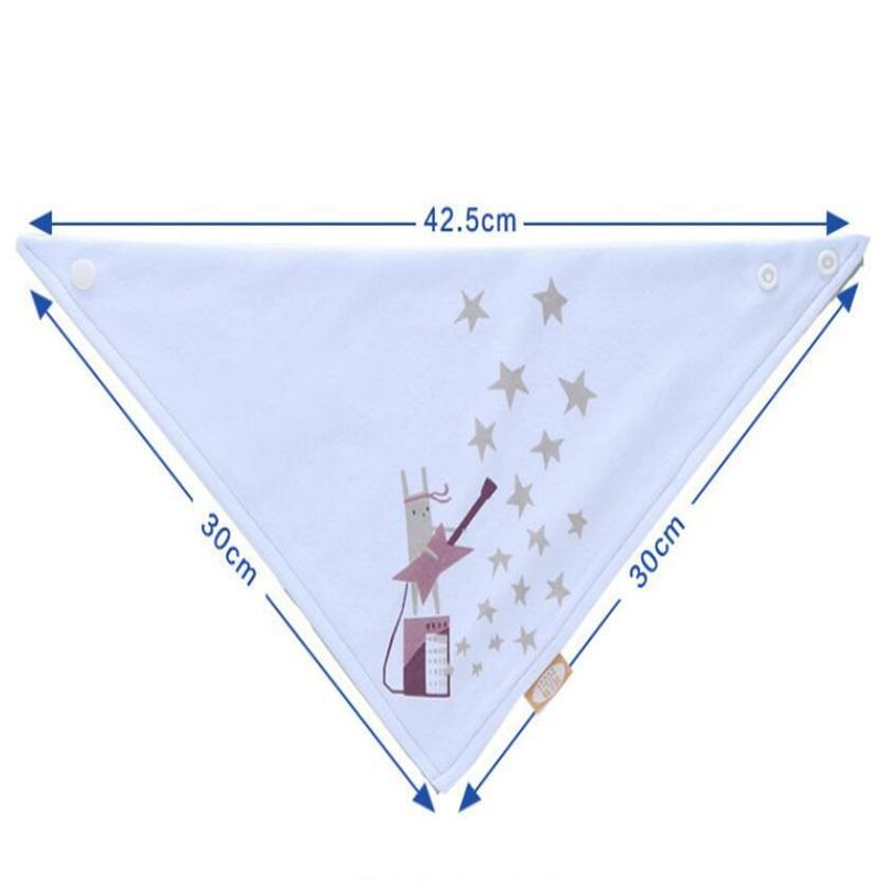 Washable Cotton Dog Bandana