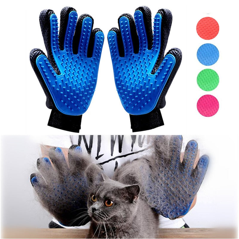De-Shedding Glove