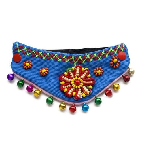 Colorful Textured Pet Bandana