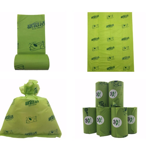Earth-Friendly 8 Rolls Large Oxo-Biodegradable Bags