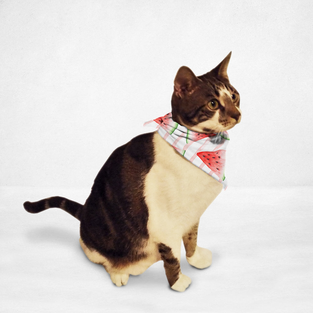Juicy Watermelon Cat & Dog Bandana