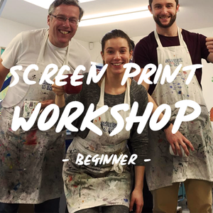 Screen print workshop | Screen printing lessons | T-shirt printing lessons | T-shirt printing workshop | Screen Printing Studio UK
