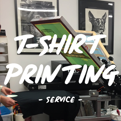 T-shirt printing | Screen print t-shirt | Garment printing service UK