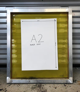 A2 size screen printing frame