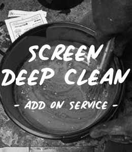 CHEMICAL CLEAN - ADD ON SERVICE