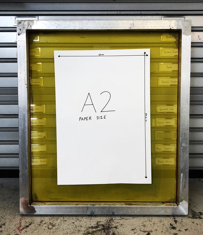 A2 screen for screen printing