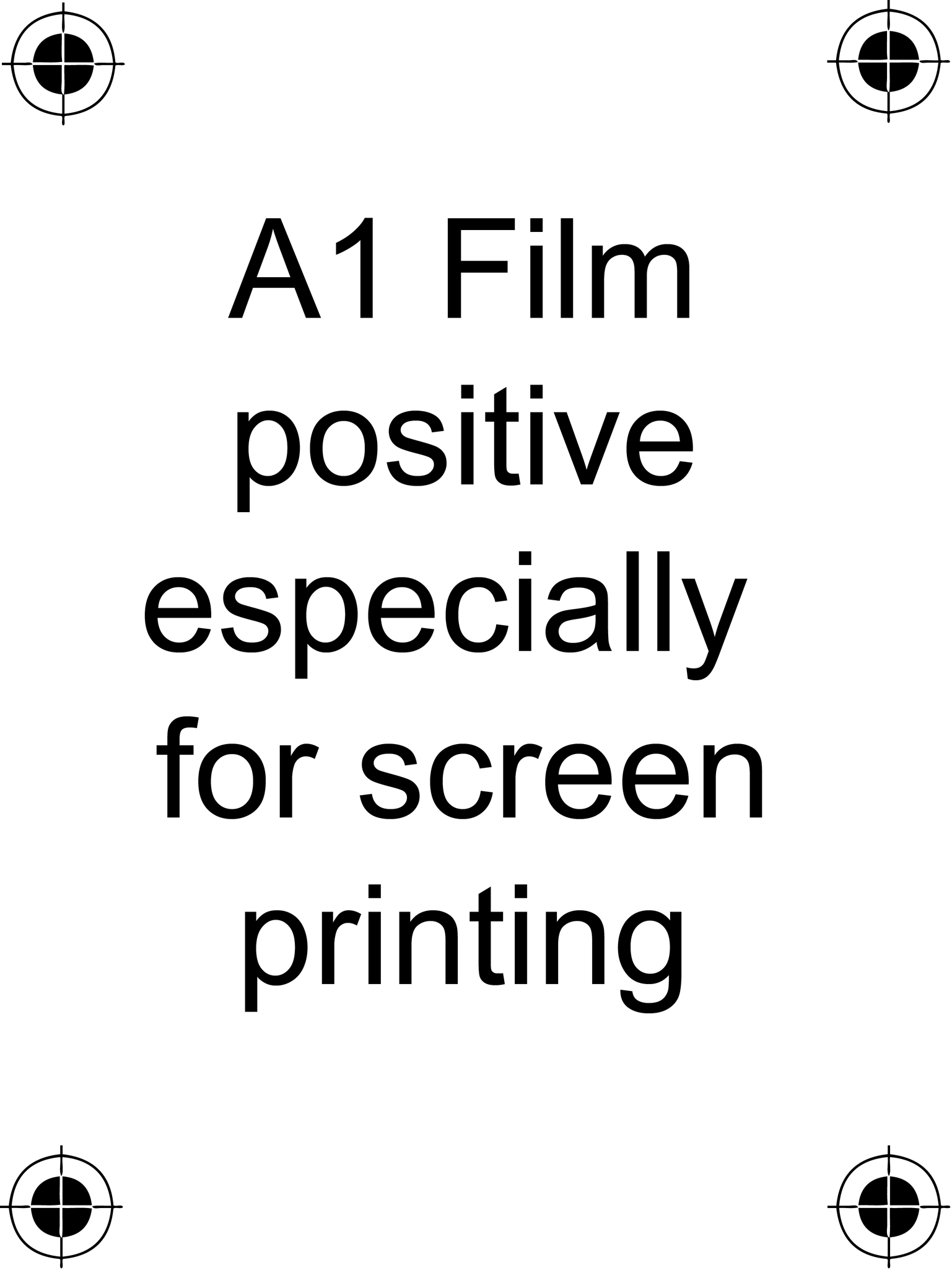 A1 Film Positive Acetate