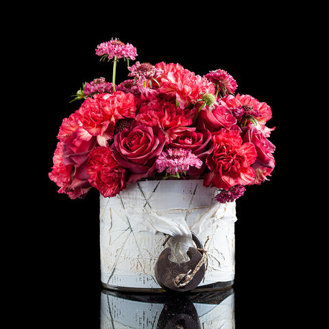Roses, Carnations & Scabiosa