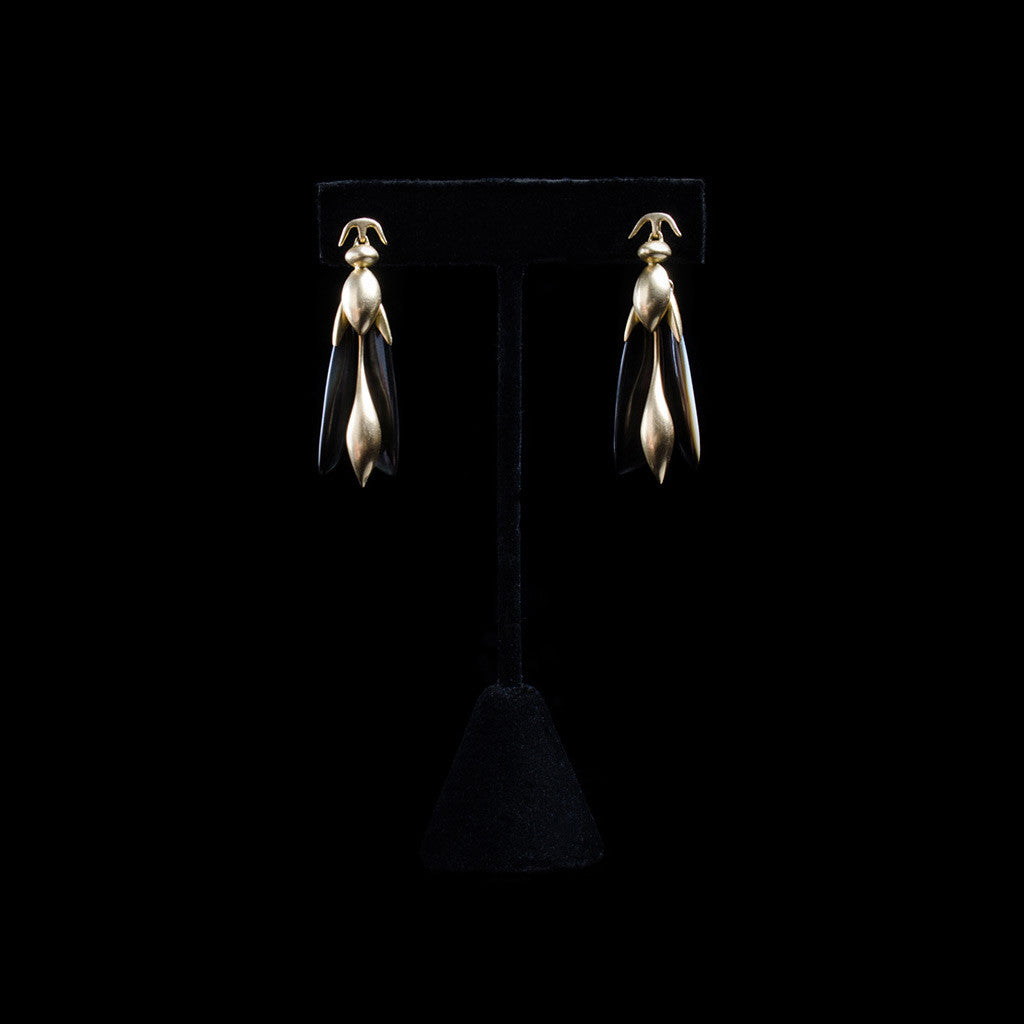 14K Articulated Wasp Earrings