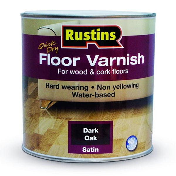 Rustins Quick Drying Floor Varnish (Colours)