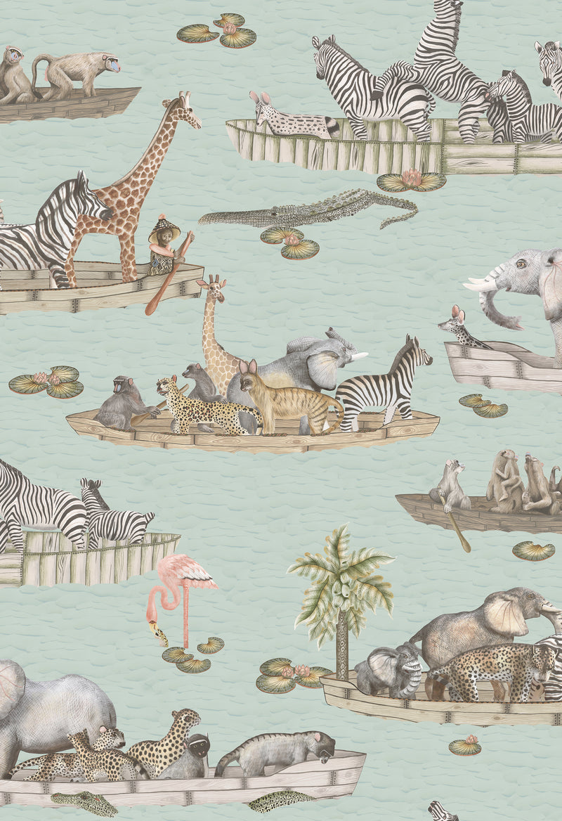 Cole & Son - The Ardmore Collection - Zambezi 109/14063	Multi-coloured