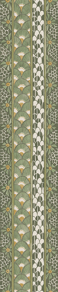 Cole & Son - The Ardmore Collection - Ardmore Border 109/5024	Olive