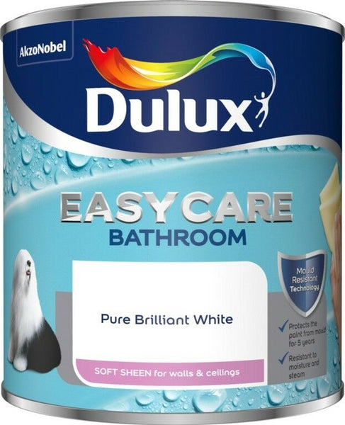 Dulux Retail Easycare Bathroom Soft Sheen PBWhite