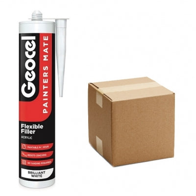 Geocel Painters Mate White 310C (Box of 12)