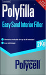 Polycell Trade Polyfilla Easy Sand Interior Filler