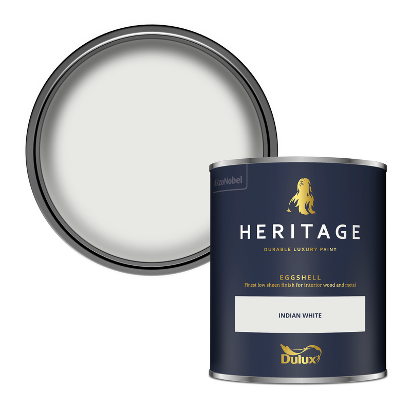 Dulux Heritage Eggshell Indian White 750ml
