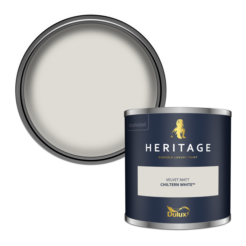 Dulux Heritage Tester Chiltern White 125ml