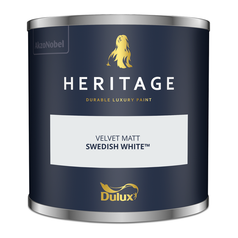 Dulux Heritage Tester Swedish White 125ml