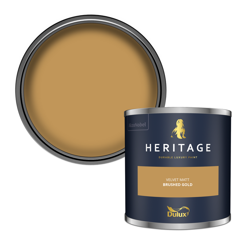 Dulux Heritage Tester Brushed Gold 125ml
