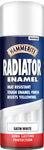 Hammerite 400ml Radiator Enamel Aerosol White (Satin/Gloss)