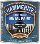 Hammerite Direct to Rust Metal Paint Hammered Finish (Ready Mixed)