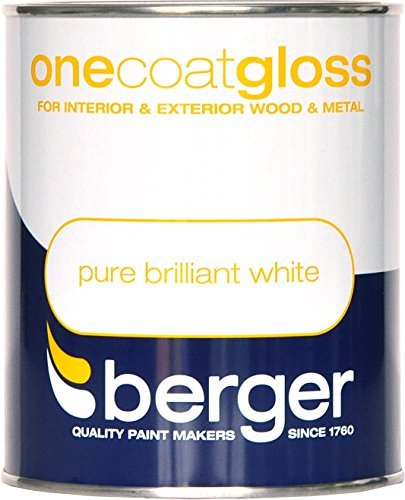 Berger One Coat Gloss Pure Brilliant White