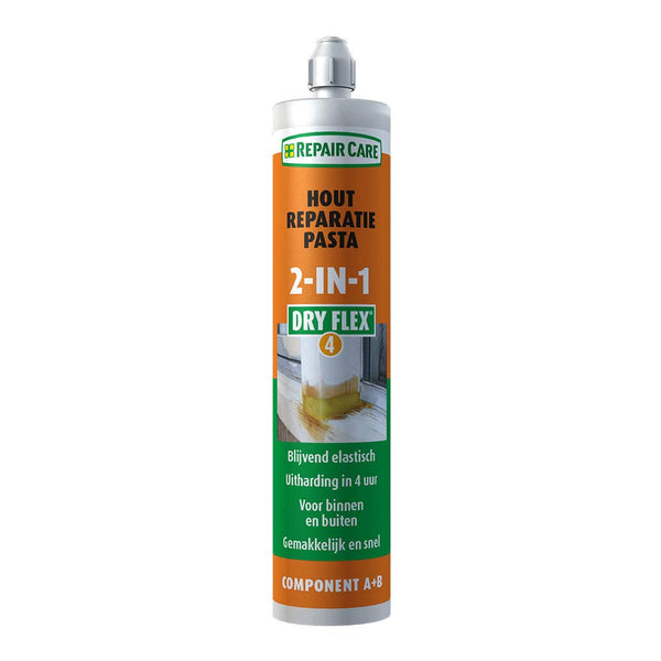 Repair Care DRY FLEX® 4 (2-IN-1) Resin Repair Compound 180ml Cartridge