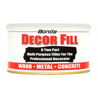 Bonda Decor Fill 2 Part Decorating Hardener Filler (All sizes)