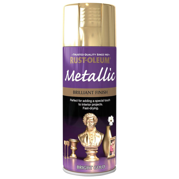 Rustoleum 400ml Brilliant Metallic Gold