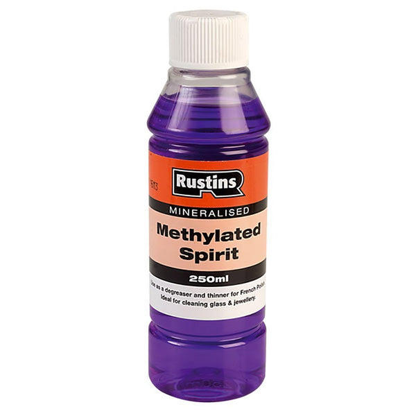 Rustins Methylated Spirits  (All Sizes)