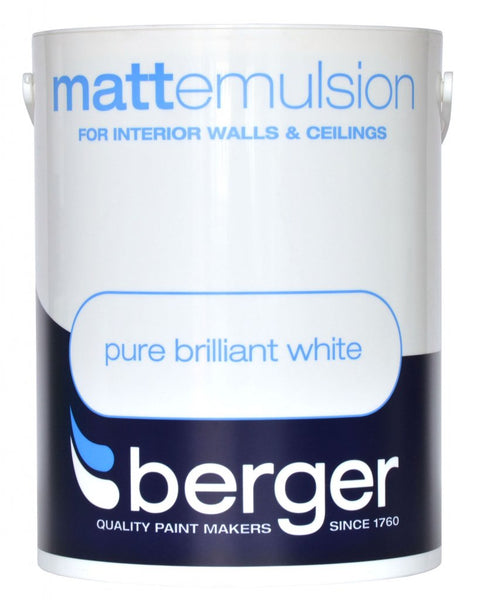Berger Matt Emulsion Pure Brilliant White