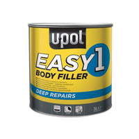 UPol EASY/7 Easy One Super Easy Sanding Lightweight Body Filler, 3 Liter, Tin Grey