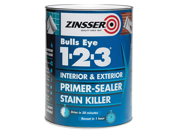 Zinsser Bulls Eye 123 Interior & Exterior Primer-Sealer