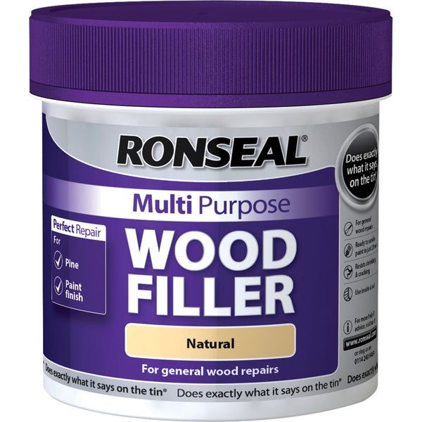Ronseal Multi-Purpose Wood Filler Tub (All Sizes & Colours)