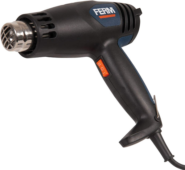 Ferm Hot Air Gun 2000W/ 240V with Nozzles and Storage Case