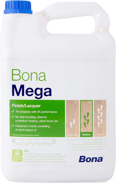 Bona Mega Floor Varnish - Matt 1L/5L