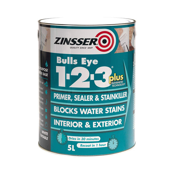 Zinsser Bulls Eye 123 PLUS