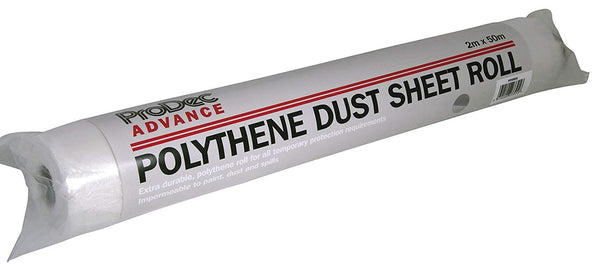 ProDec Advance Polythene Dust Sheet Roll