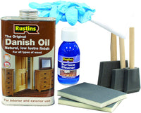 The Colour Centre Wooden Worktop Rustins Maintenance Kit