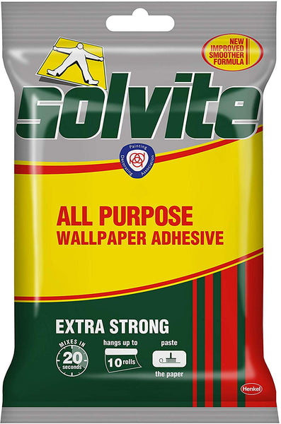 Solvite All-Purpose Wallpaper Adhesive 185g