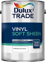 Dulux Trade Vinyl Soft Sheen Pure Brilliant White