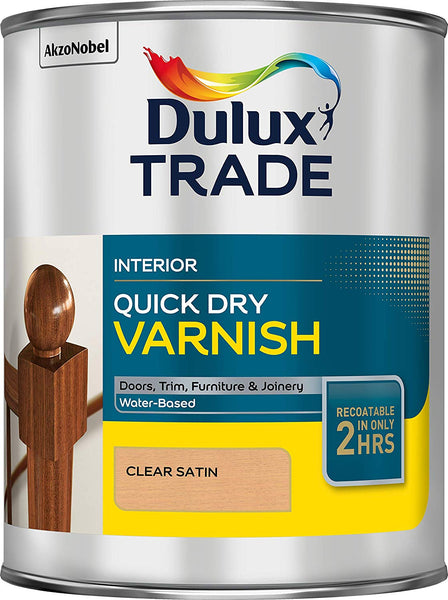 Dulux Trade Quick Drying Varnish