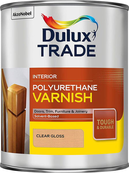 Dulux Trade Polyurethane Varnish (Gloss/Matt/Satin)