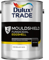Dulux Trade Mouldshield Fungicidal Eggshell Pure Brilliant White