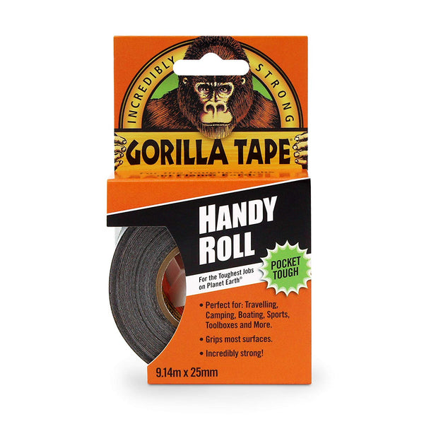 Gorilla Glue Gorilla Duct Tape Black 9.14 m, Black [Energy Class A]