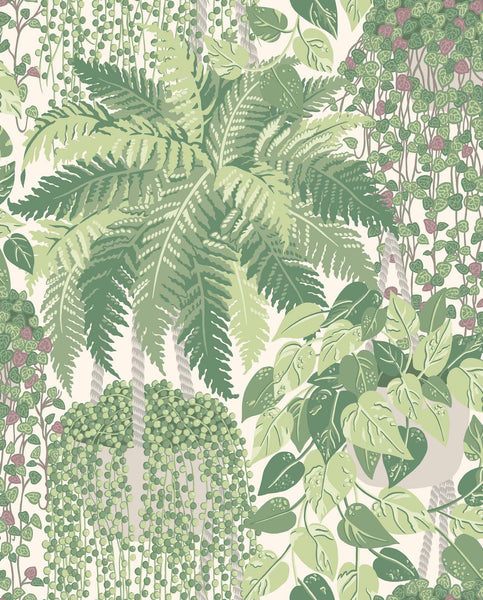 Fern 115/7021 Leaf Green & Olive